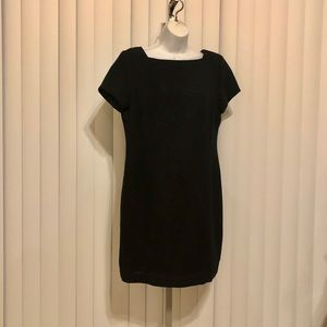 Worthington petite black beaded dress
